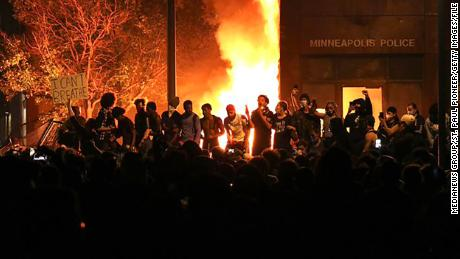 Minnesota man sentenced to 4 years in prison for role in setting ablaze a Minneapolis police precinct during Floyd protests
