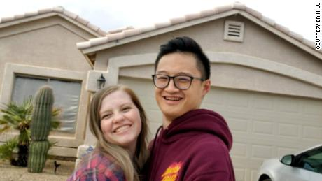 Erin and Kevin Lu bought a house in Phoenix after being outbid on a prior offer.