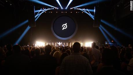 Peloton's Homecoming event in 2019.