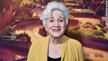 Olympia Dukakis attends the premiere of