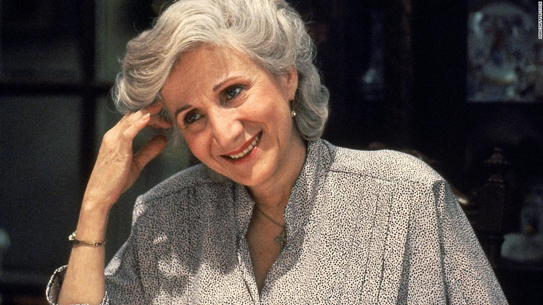 """Actress <a href=""""https://www.cnn.com/2021/05/01/entertainment/olympia-dukakis-death/index.html"""" target=""""_blank"""">Olympia Dukakis,</a> who won an Oscar for her role in the 1987 film """"Moonstruck,"""" died on May 1, according to her agent. She was 89 years old."""