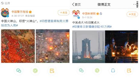 Weibo posts about India from two official Chinese government accounts sparked a major backlash over the weekend.