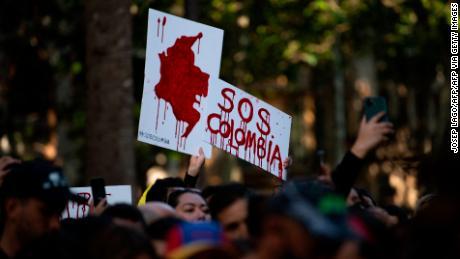 کولمبیا کے احتجاج کی وضاحت ،
