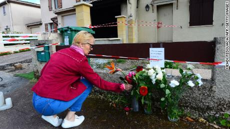 A French woman was shot and burned by her estranged husband, officials say, as anger builds over femicides