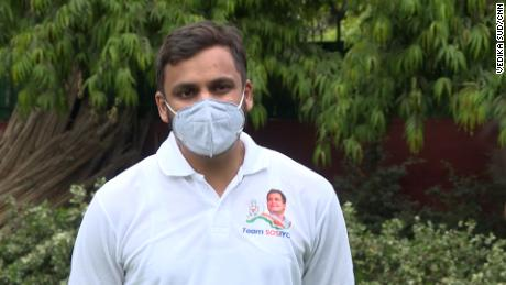 Manu Jain, the national convenor of the Indian Youth Congress, in New Delhi on May 5.