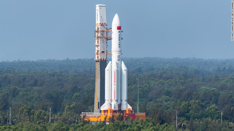 Debris from Chinese rocket has fallen to Earth