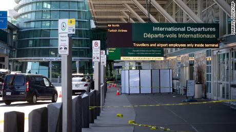 At least one dead after shooting at Vancouver airport