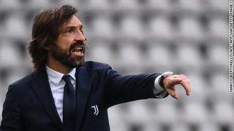 Andrea Pirlo has struggled since taking over as Juventus head coach.