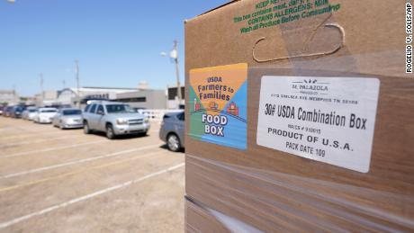 Biden administration winds down Trump's pandemic food box program