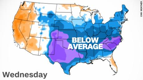 March weather in May sees Southeast shiver with record cold not seen in over a century