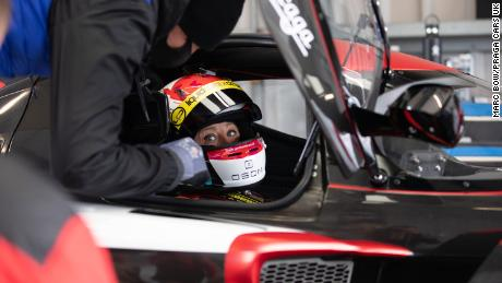 Martin hopes to make history by becoming the first transgender driver to compete in the Le Mans 24 Hour race.
