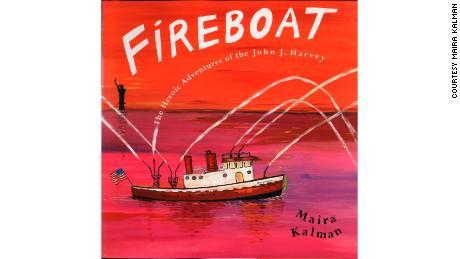 "Maira Kalman's picture book ""Fireboat: The Heroic Adventures of the John J. Harvey"" features author Jessica DuLong."