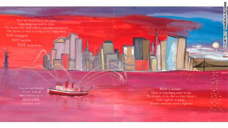 Kalman's work told the story of the helpers on 9/11.