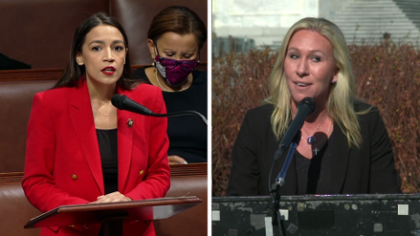 Marjorie Taylor Greene accused of 'verbal assault' on Alexandria Ocasio-Cortez