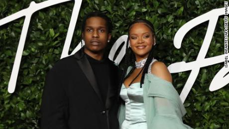 A$AP Rocky says he and Rihanna are dating, calls her the 'love of my life'