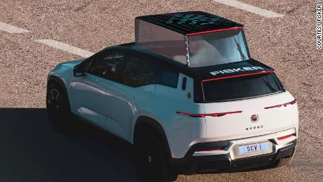 Fisker plans to deliver its electric popemobile next year.