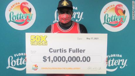 A Florida man's truck broke down right after his wife's car. Then he claimed a $1 million lottery prize