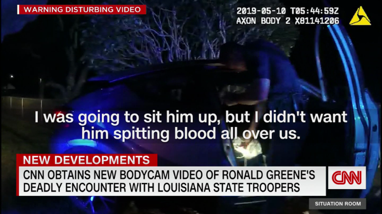 Louisiana State Police release all footage related to Ronald Greene's violent arrest