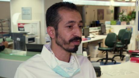 Dr. Abed Khalaeileh, the surgeon who operated on Aweis.
