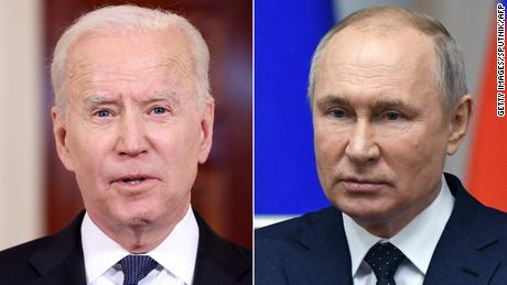 بائیڈن کا کہنا ہے کہ وہ اگلے ماہ ملاقات کے دوران پوتن کے ساتھ انسانی حقوق کی پامالی کریں گے