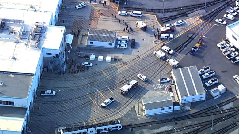 Deadly Shooting at Railroad Yard in San Jose, California: Shooter Down