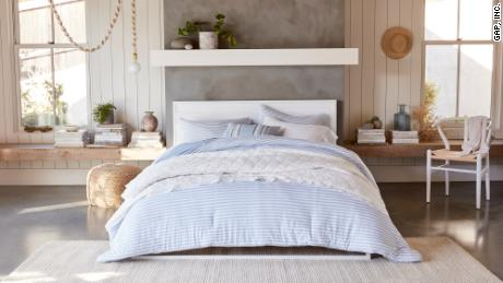 Gap is partnering with Walmart to launch Gap Home, its first home decor collection.