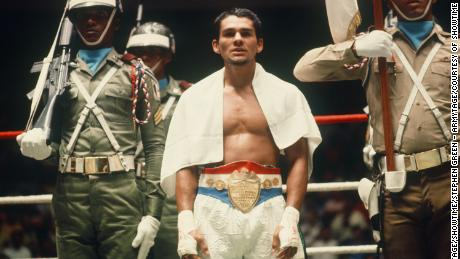 Roberto 'Hands of Stone' Duran in 'The Kings.'