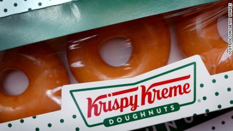 Krispy Kreme has given more than 1.5 million doughnuts away.