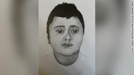 Las Vegas police ask for help to identify boy found dead on a trail