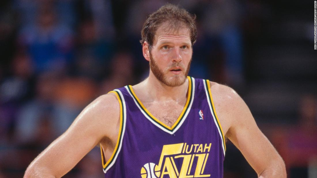 """Former Utah Jazz center <a href=""""https://www.cnn.com/2021/05/29/us/mark-eaton-utah-jazz-dead/index.html"""" target=""""_blank"""">Mark Eaton</a> died at the age of 64, the team confirmed in a statement on May 29. Eaton was found unconscious near his home in Summit County, Utah, after being involved in what appeared to be a bicycle crash, according to the Summit County Sheriff's Office. Eaton was transported to a nearby hospital where he died. Eaton was a two-time NBA Defensive Player of the Year and has the fourth-most blocks in league history. He still holds the record for most blocked shots in a season, amassing 456 blocks during the 1984-85 season."""
