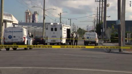 A Miami shooting leaves 1 dead and 6 wounded Friday