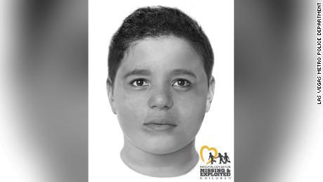 La policía de Las Vegas publica una nueva imagen del niño encontrado muerto en el camino