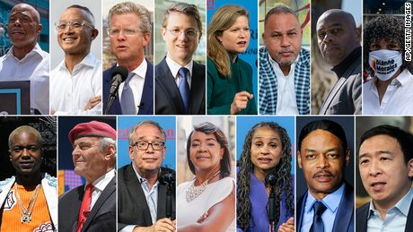 These are the New York City mayoral primary candidates