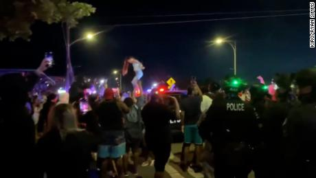 "The ""Washington kickback"" at Alki Beach in Seattle last weekend similarly was broken up by police."