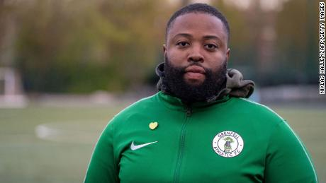 Grenfell Athletic's founder and manager Rupert Taylor says helping others provides him therapy.