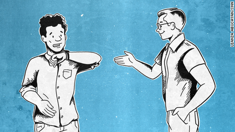 Is the handshake back? How we're greeting each other as the world reopens