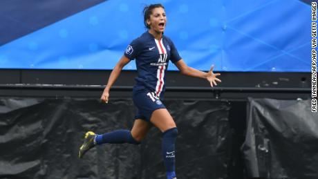 Nadia Nadim has been a prolific goalscorer throughout her career.