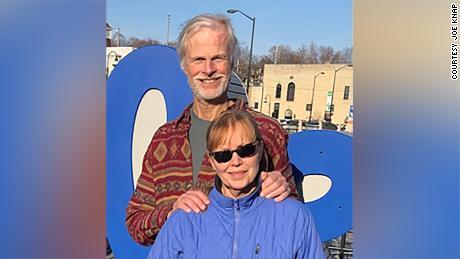 Joe and Jenny Knap in early Spring 2021.