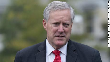 Trump's chief of staff Mark Meadows pushed DOJ to investigate baseless election fraud claims