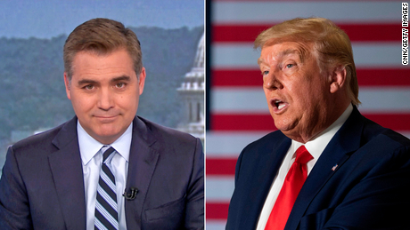 trump august reinstate white house claim acosta hold on nr sot vpx_00010529