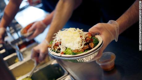 Chipotle raised menu prices last week.