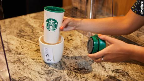 Starbucks is putting a new system in place for personal mugs.