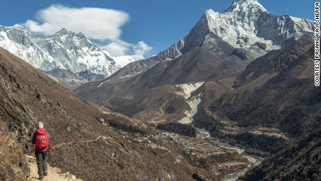 In January 2021, Alharthy became the first Arab woman to summit Ama Dablam, Nepal.