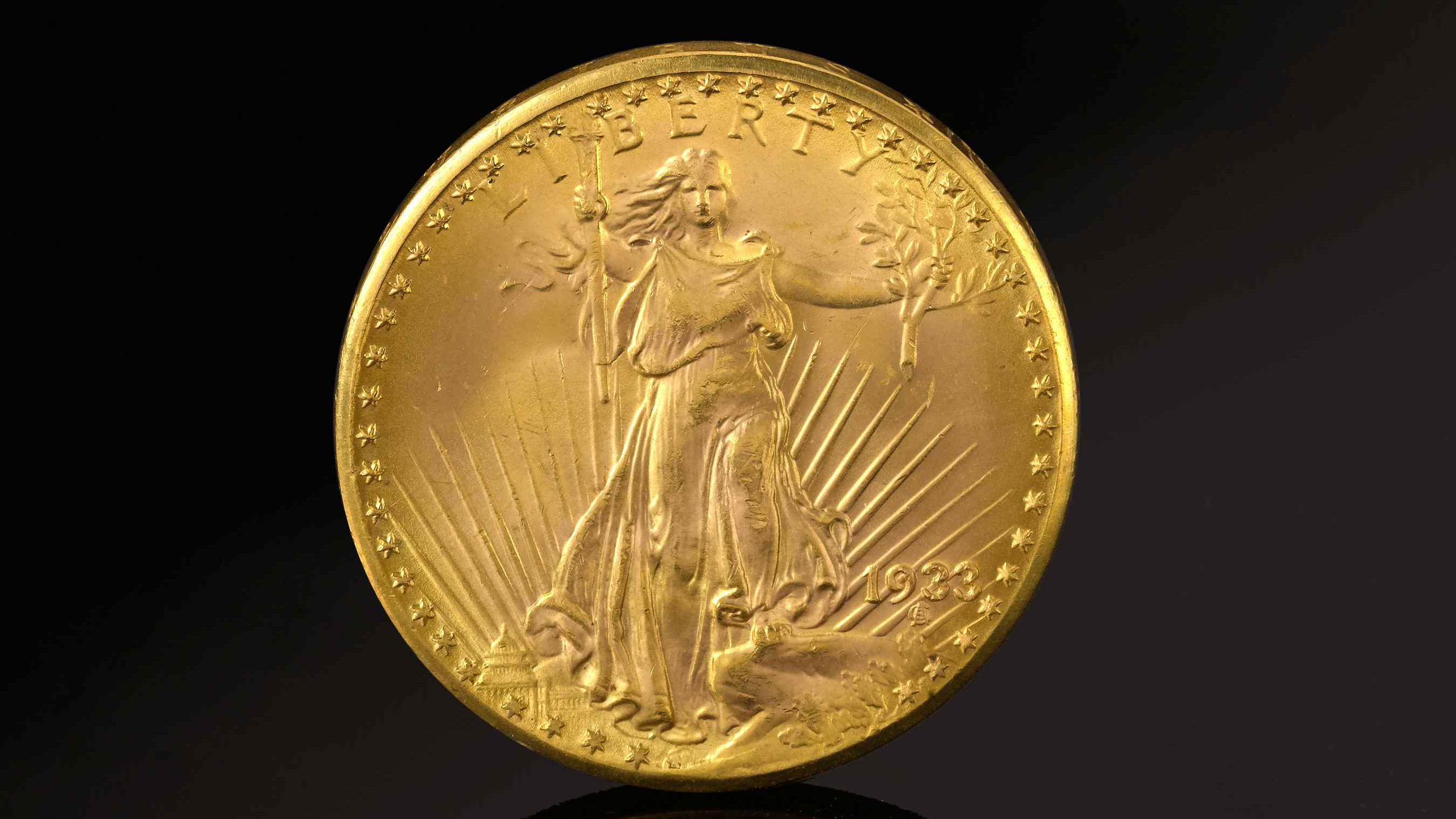 Double Eagle 1933 Gold Coin S For