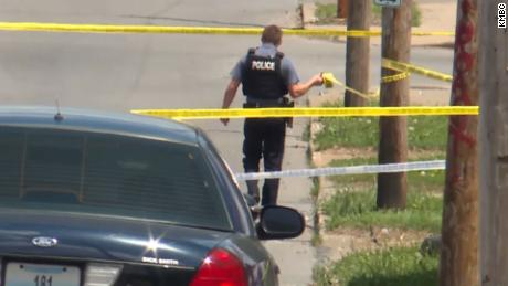 Four people were killed, including two juveniles, in separate shootings over three hours in the Kansas City area
