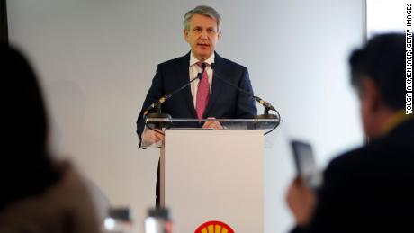 Royal Dutch Shell chief executive Ben van Beurden.