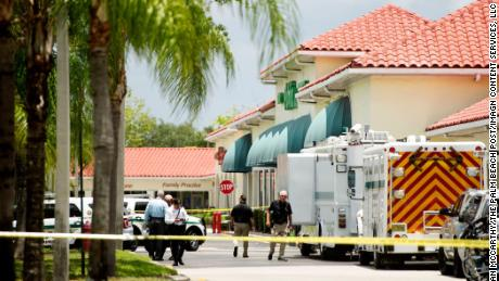 Shooting in a Florida supermarket kills three people, including a shooter
