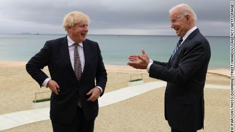 Biden and world leaders meet at 2021 G7 summit