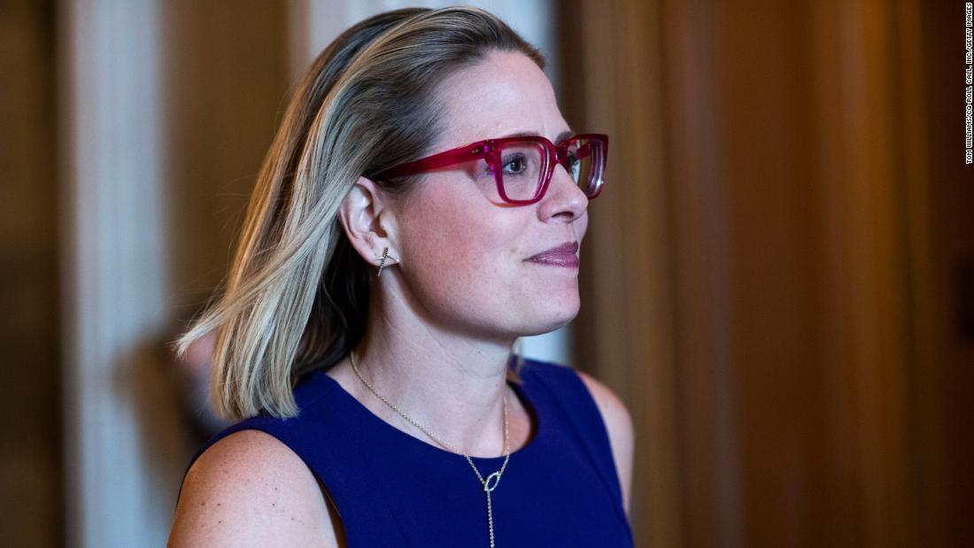Sinema faces Arizona blowback over becoming the Senate's new unmovable roadblock - CNN