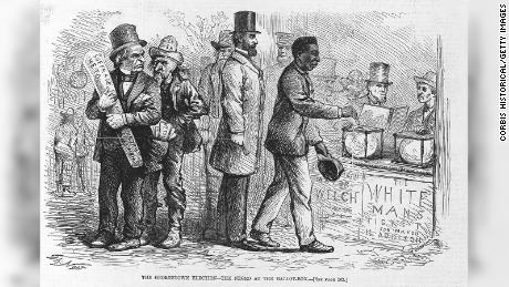 US history holds a chilling warning about restricting votes